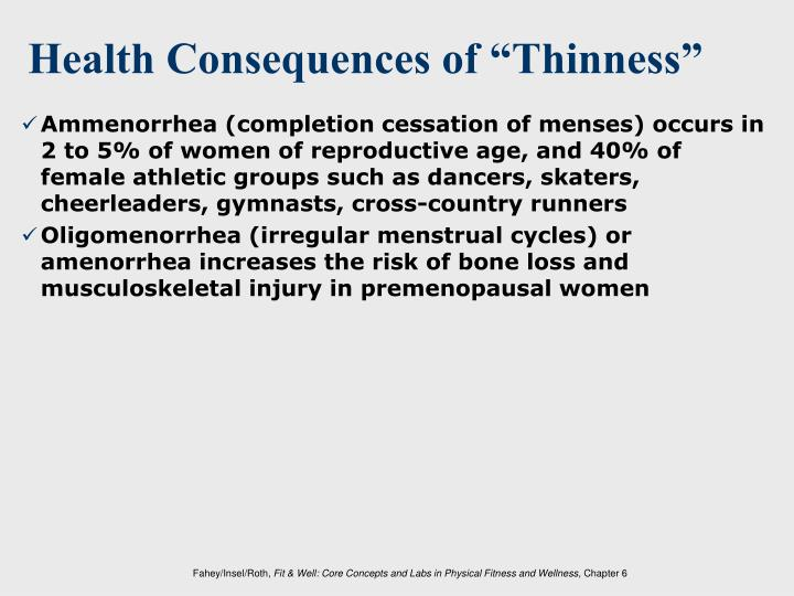 "Health Consequences of ""Thinness"""