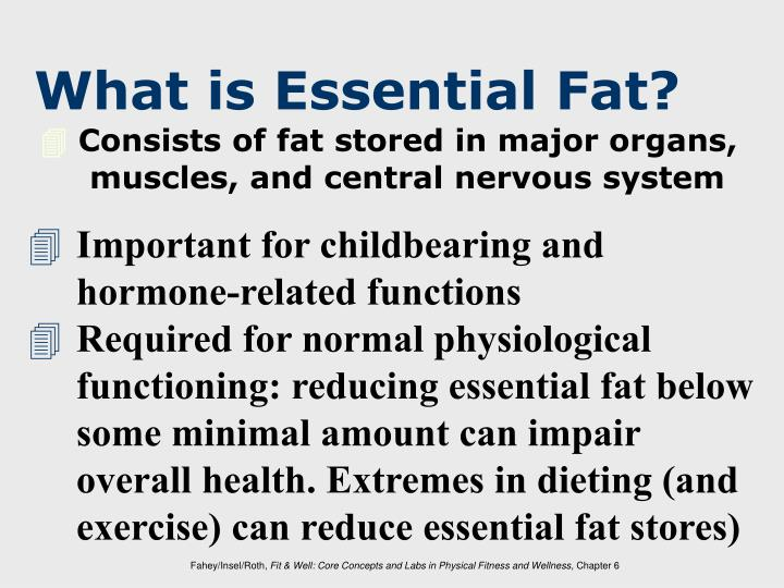 What is Essential Fat?