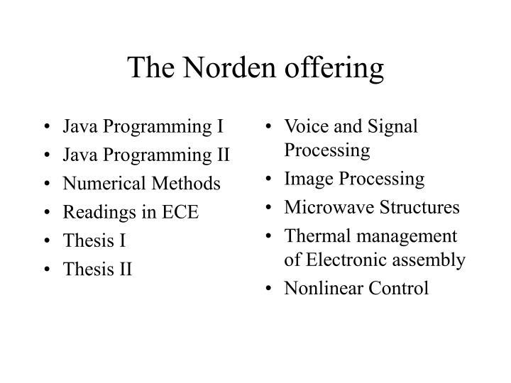 Java Programming I