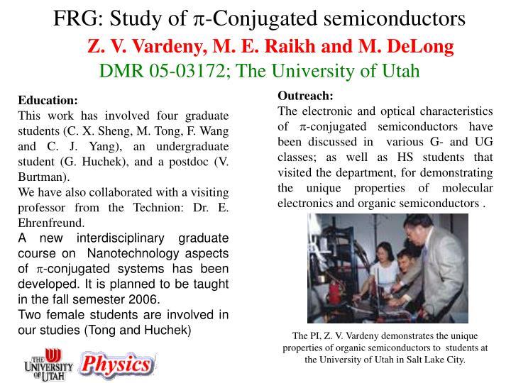 FRG: Study of