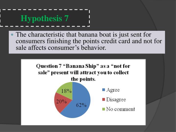 Hypothesis 7