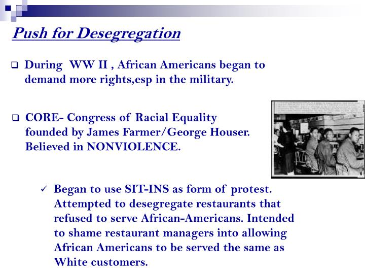Push for Desegregation