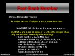 fast bank number
