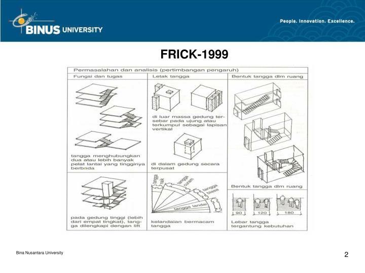 FRICK-1999
