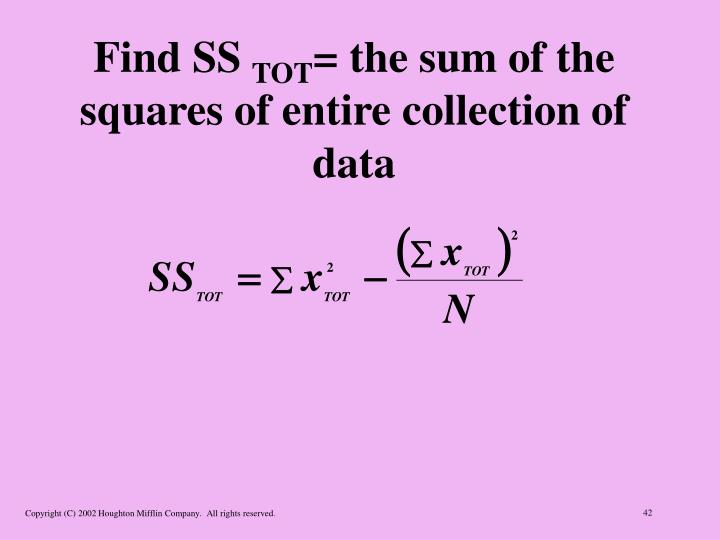 Find SS