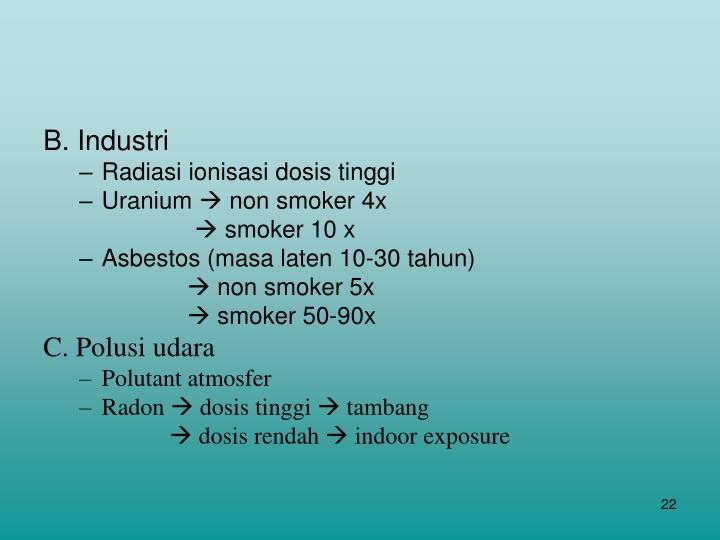 B. Industri