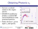 obtaining photonic v 2