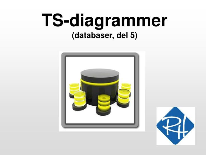 Ts diagrammer databaser del 5