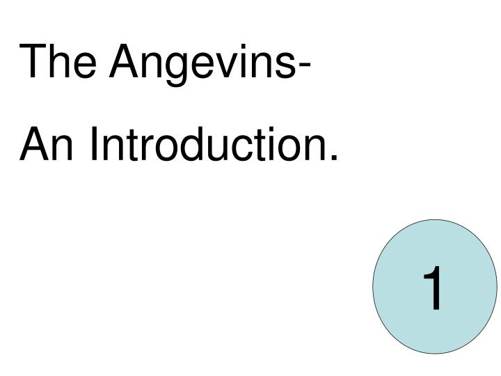 The Angevins-