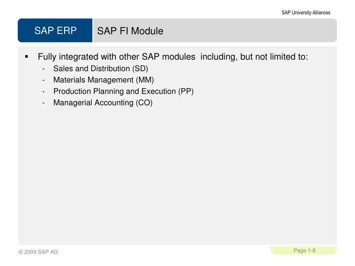SAP FI Module