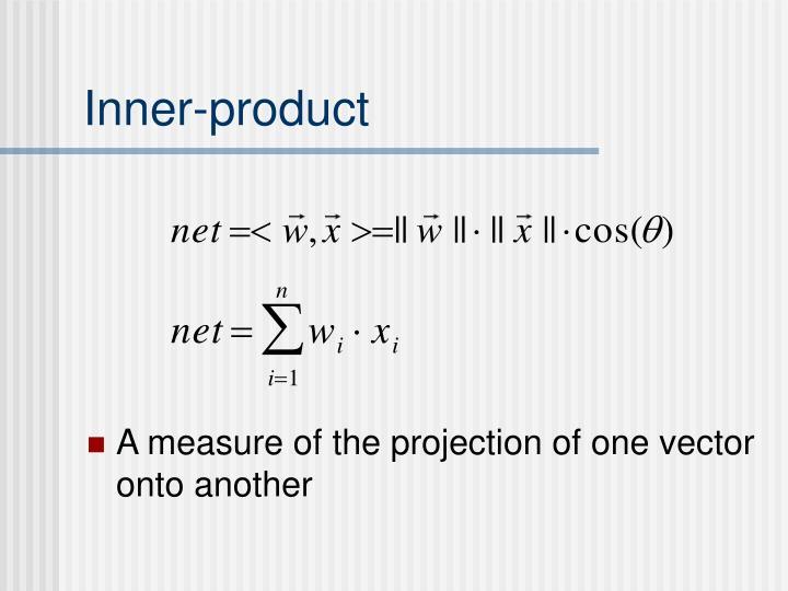 Inner-product