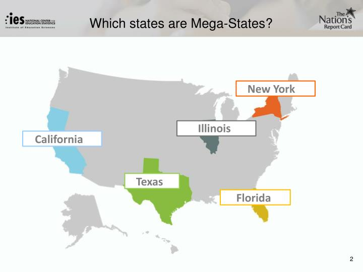 Which states are Mega-States?