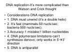 dna replication it s more complicated than watson and crick thought