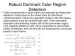 robust dominant color region detection2
