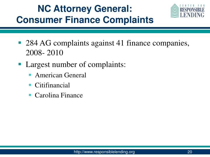 NC Attorney General: