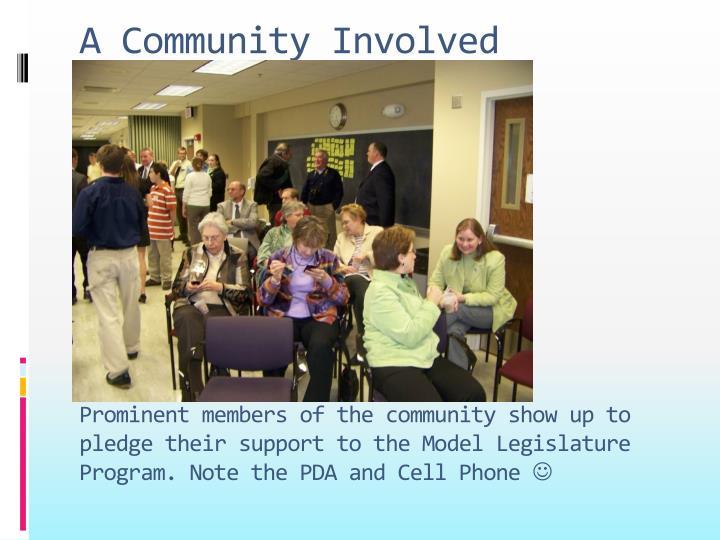 A Community Involved