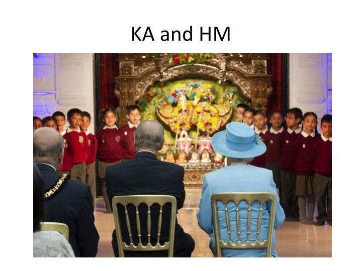 KA and HM