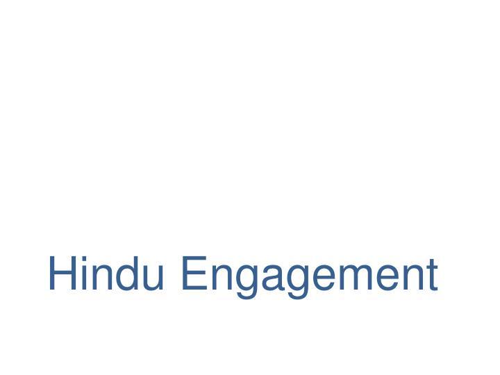 Hindu Engagement
