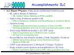 accomplishments ilc