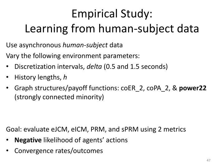 Empirical Study: