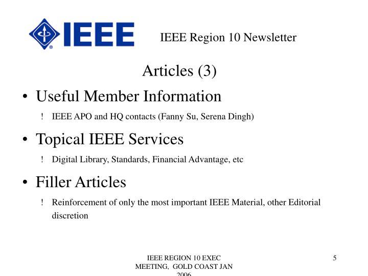 Articles (3)