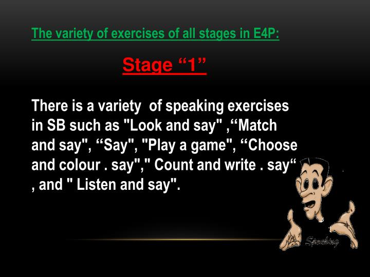 The variety of exercises of all