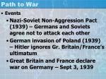 path to war3