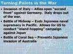 turning points in the war1