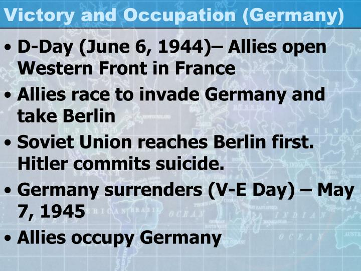 Victory and Occupation (Germany)