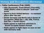 victory and occupation germany1