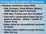 victory and occupation germany2