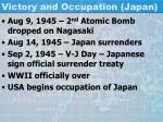 victory and occupation japan1