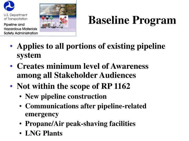 Baseline Program
