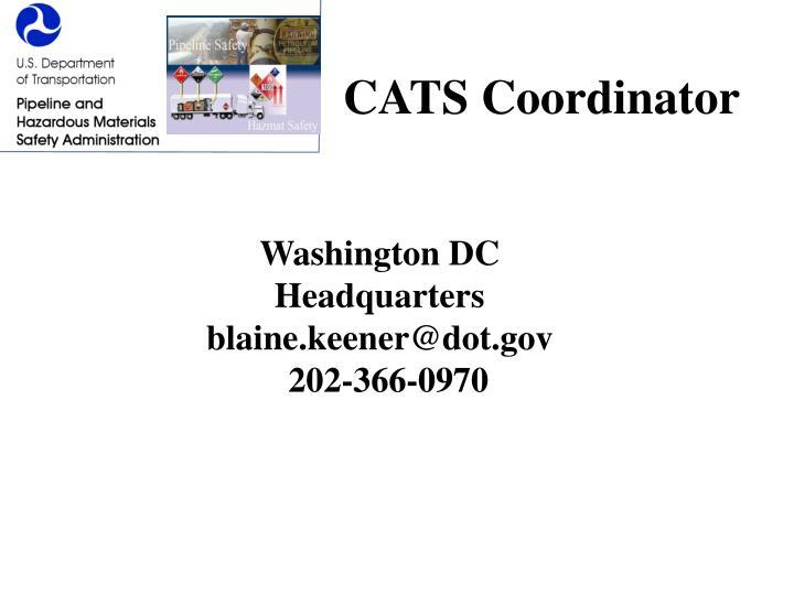 CATS Coordinator