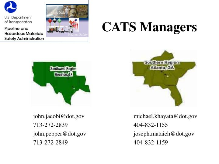 CATS Managers