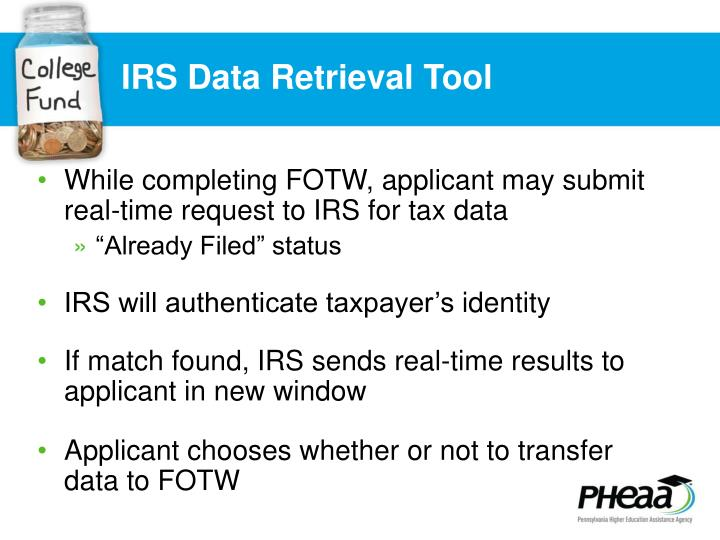 IRS Data Retrieval Tool
