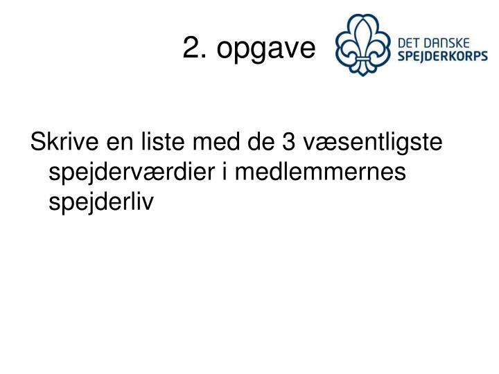 2. opgave