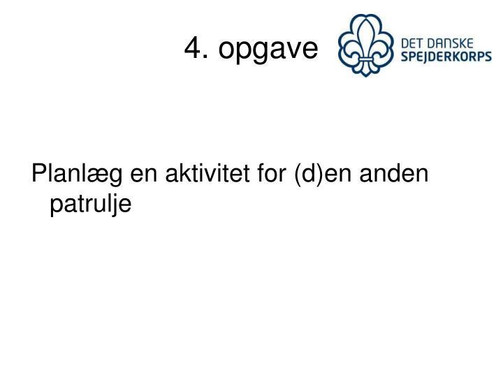4. opgave