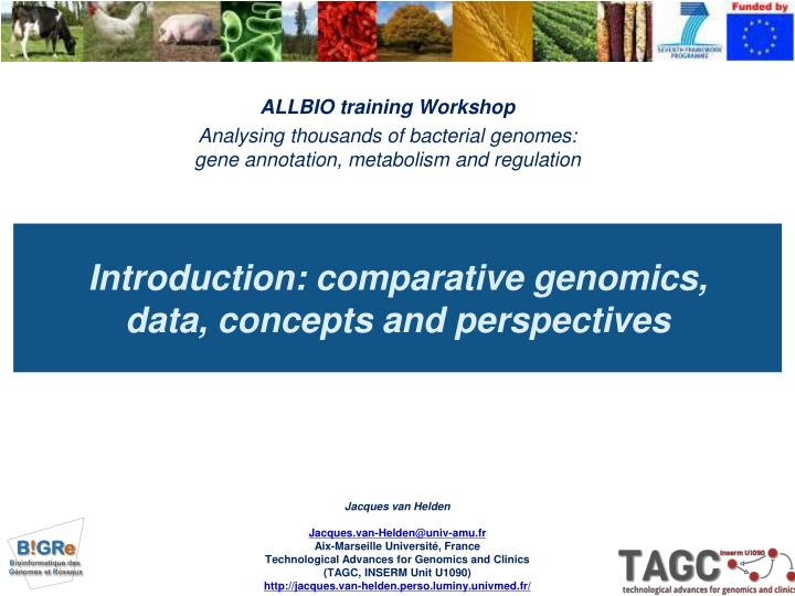 ALLBIO training Workshop