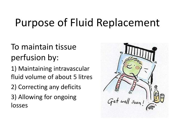Purpose of Fluid Replacement