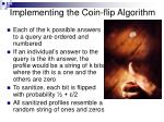 implementing the coin flip algorithm