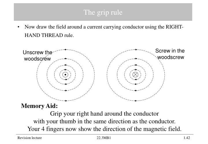The grip rule