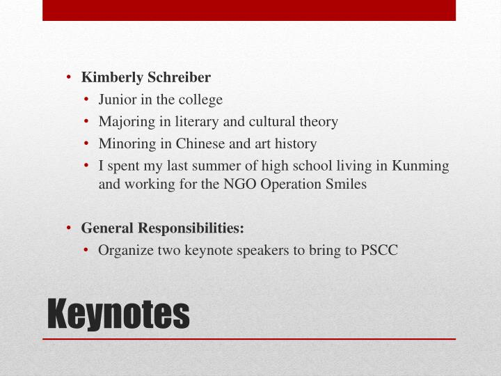 Kimberly Schreiber