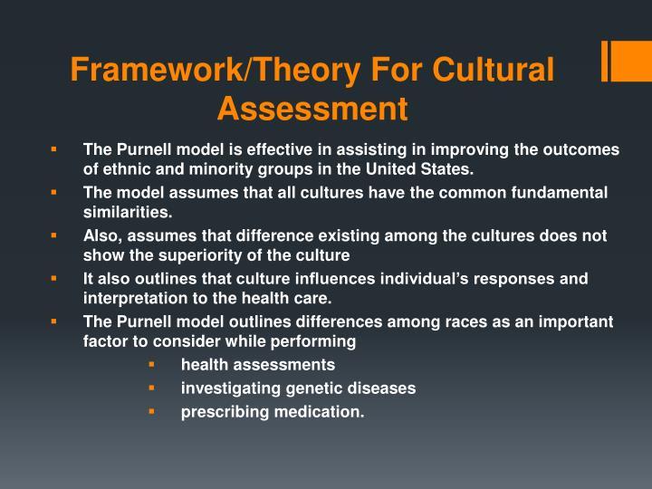 Framework/Theory