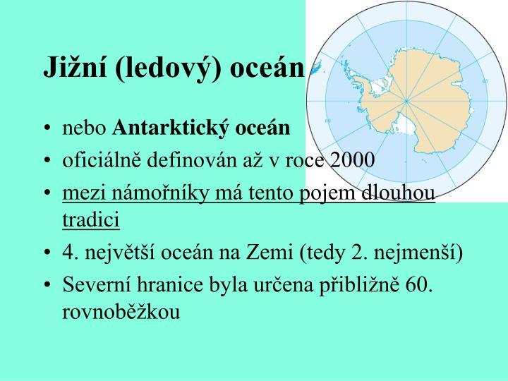 Jižní (ledový) oceán