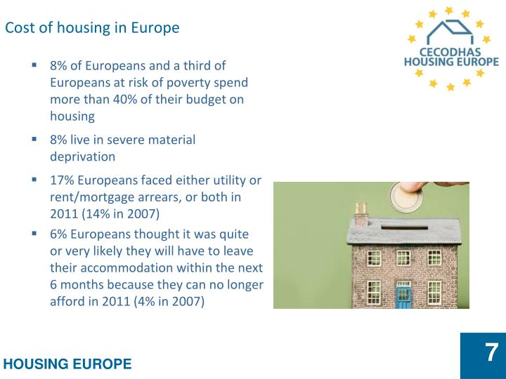 Cost of housing in Europe