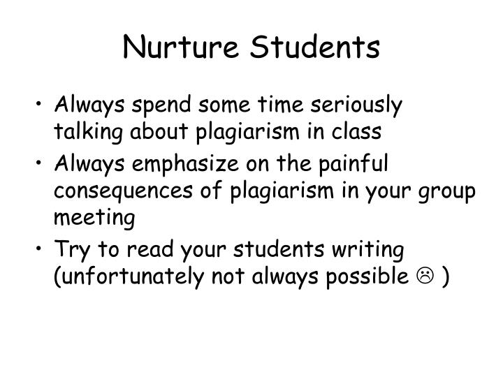 Nurture Students