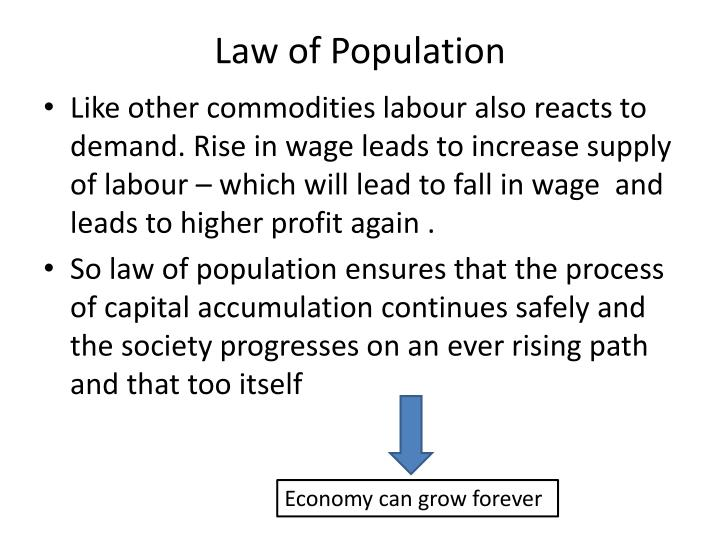 Law of Population