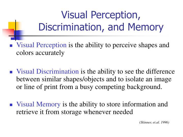 Visual Perception,