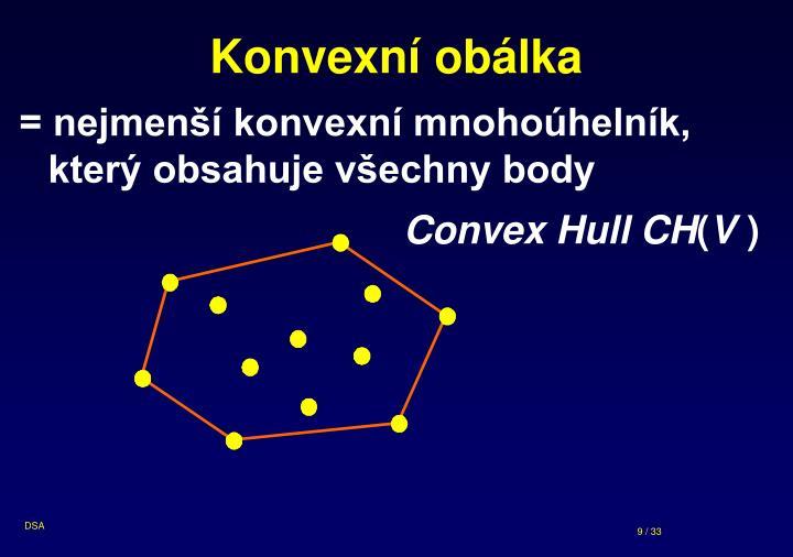 Konvexní obálka